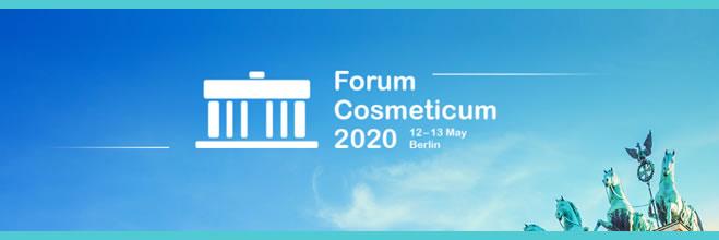 Forum Cosmeticum 2020