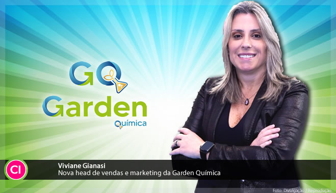 Garden Química anuncia nova head de vendas e marketing e nova identidade visual
