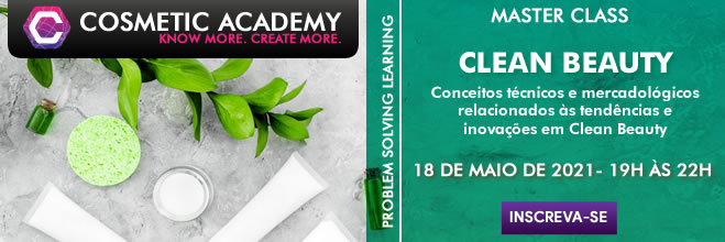 MASTER CLASS - CLEAN BEAUTY