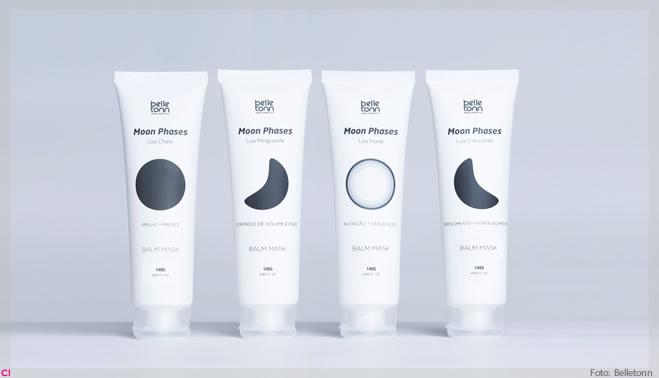 Belletonn apresenta linha de balm masks inspiradas nas fases da lua